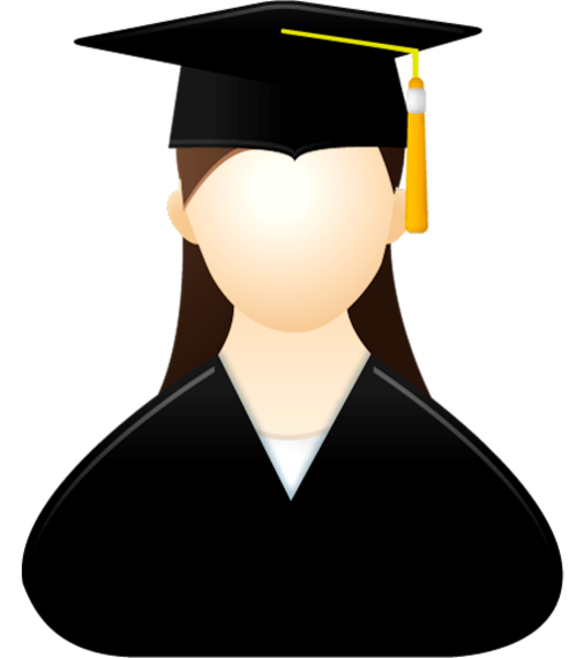 jpg library Graduation clipart speaker. Graduate female free images
