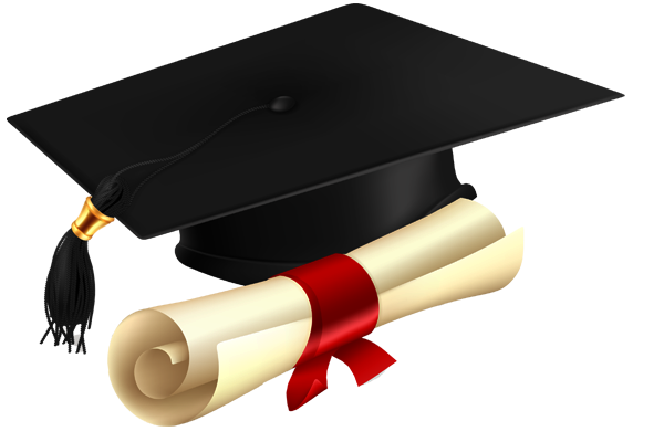 image freeuse library Graduation clipart transparent background. Png pictures free icons