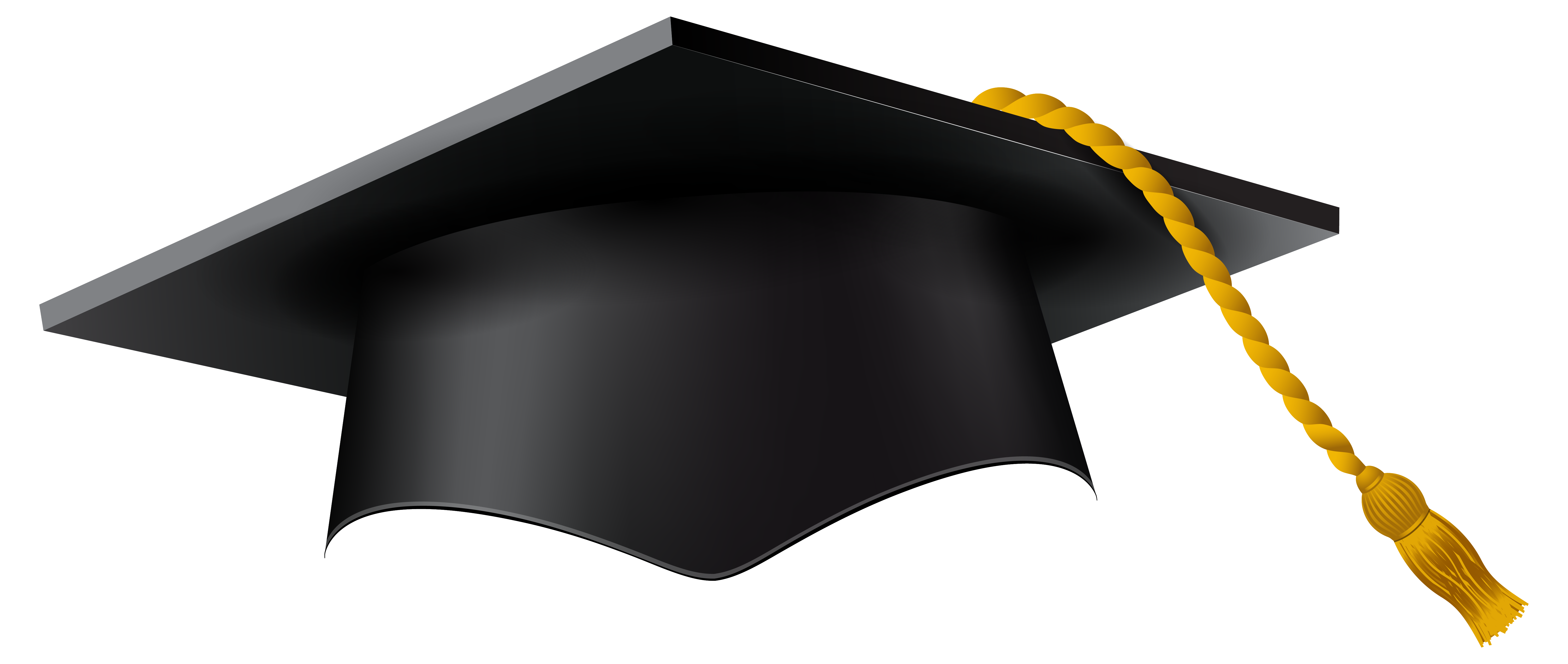banner royalty free download Cap clear background free. Great clipart graduation