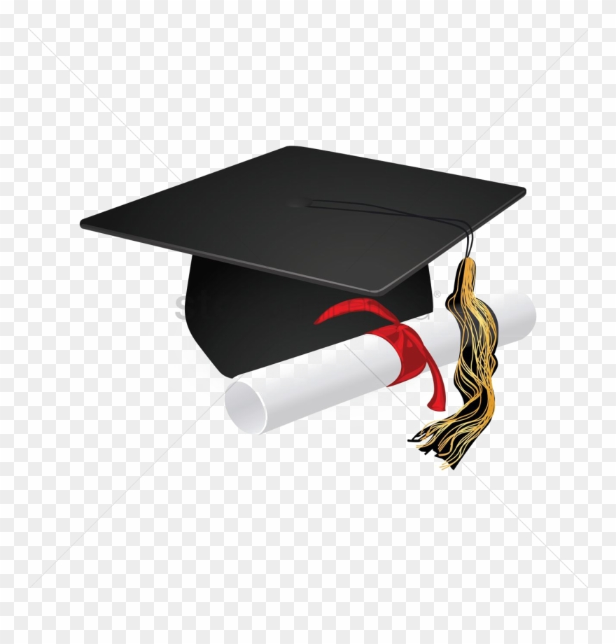 image library Graduation icon download . Diploma transparent cap gown