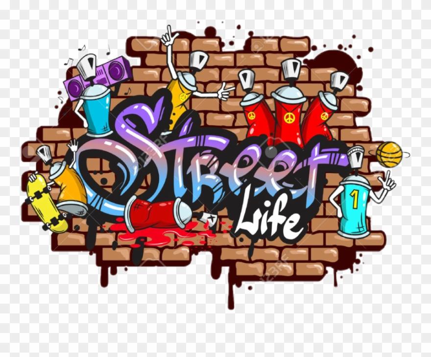 freeuse download Street life graffitis de. Graffiti clipart.