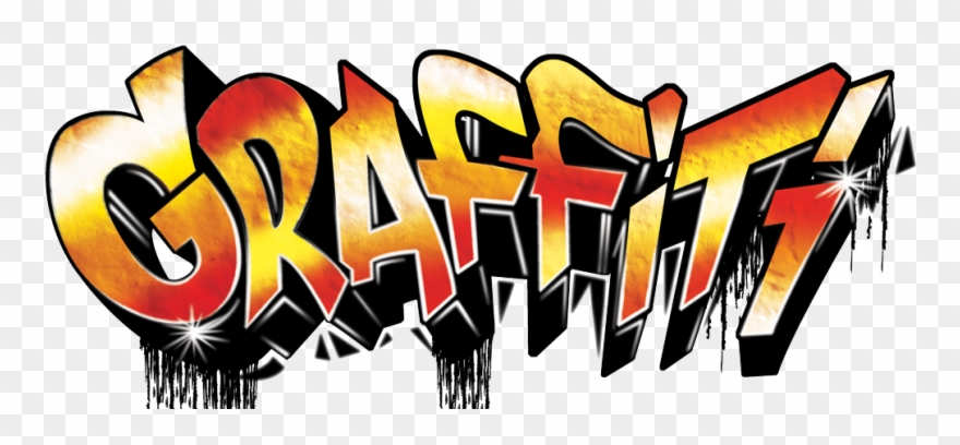 graphic freeuse stock Transparent . Graffiti clipart clear background