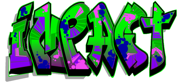 banner free download Graffiti clipart clear background. Impact black free images
