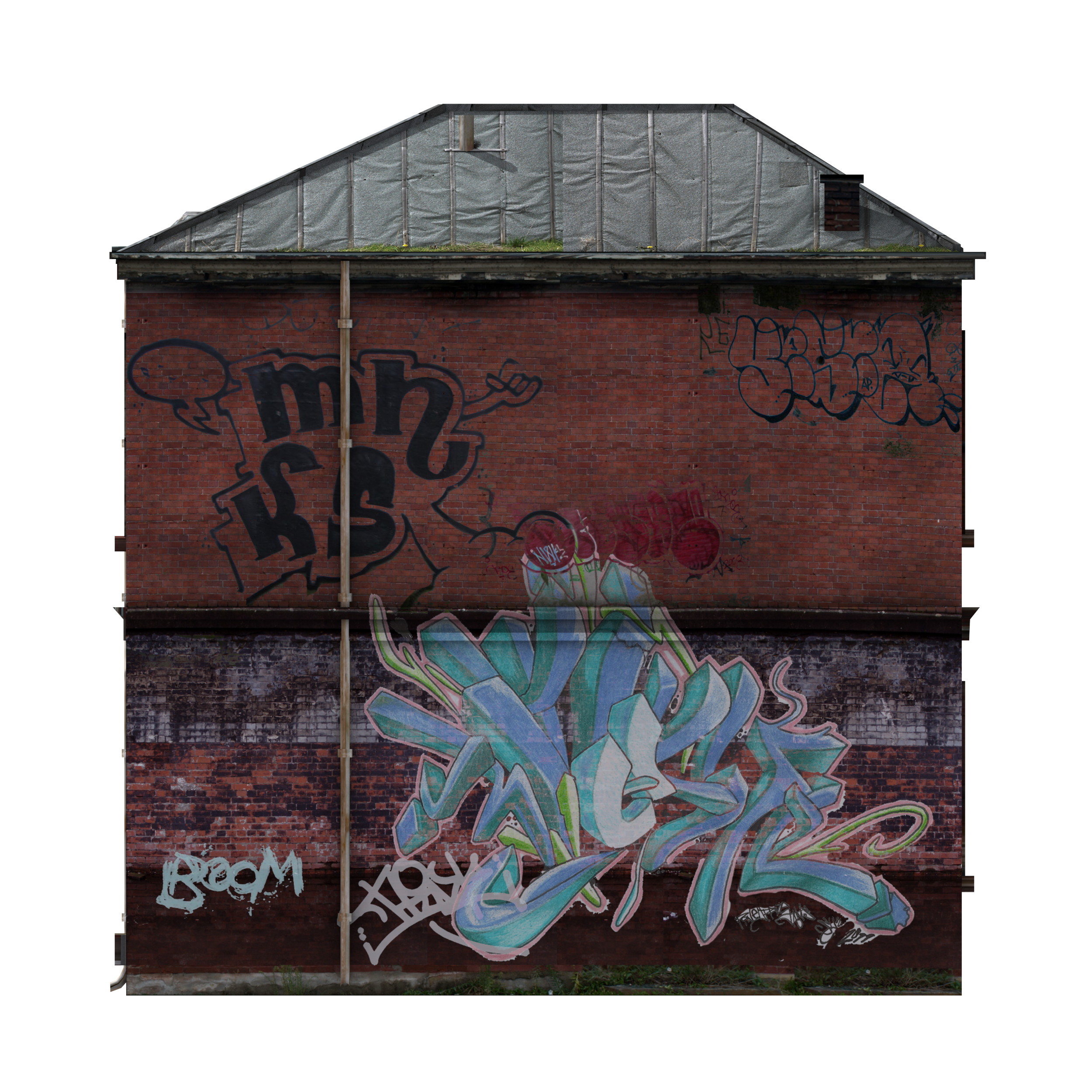 picture freeuse stock Graffiti clipart man. Old house home png