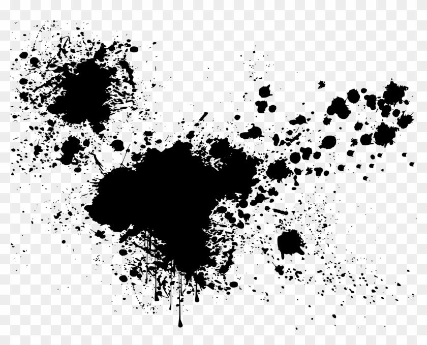 clip art library Graffiti clipart paint drip. Ink splatter splash black