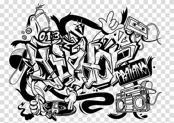 png free download Graffiti clipart school. Hip hop music rapper