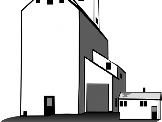 jpg black and white download Free on dumielauxepices net. Grain clipart grain elevator