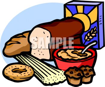 image black and white library Grains clipart cerial. Bread cereal panda free