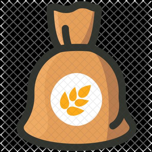 freeuse download Grains clipart sack grain. Icon jmkxyy
