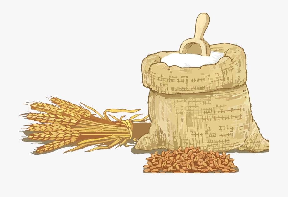 clip art Grains clipart sack grain. Sacks of wheat cartoon