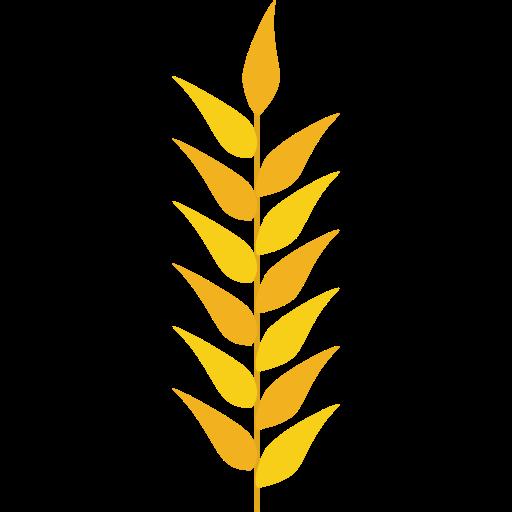 stock Grain nature food icon. Grains clipart wheat plant