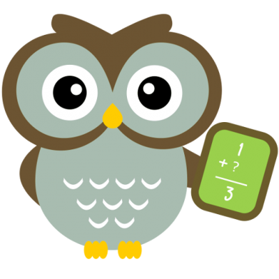 picture royalty free Math puzzles and lateral. Grammar clipart owl