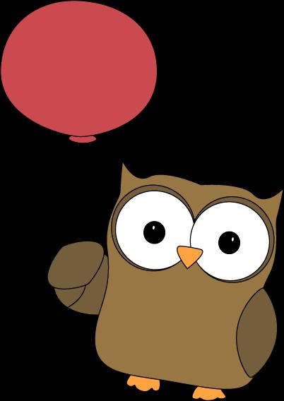 clip art transparent stock Grammar clipart owl. Carried away by balloon