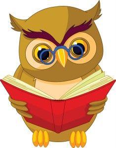 clip art transparent stock Books clip art cartoon. Grammar clipart owl