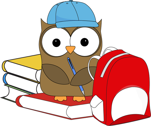 royalty free stock The nitty gritty of. Grammar clipart owl