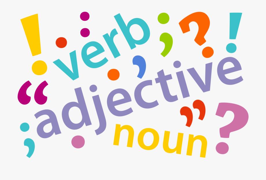 graphic Grammar clipart part speech. Language rule parts of