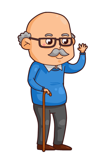 picture royalty free download  collection of high. Grandfather clipart.