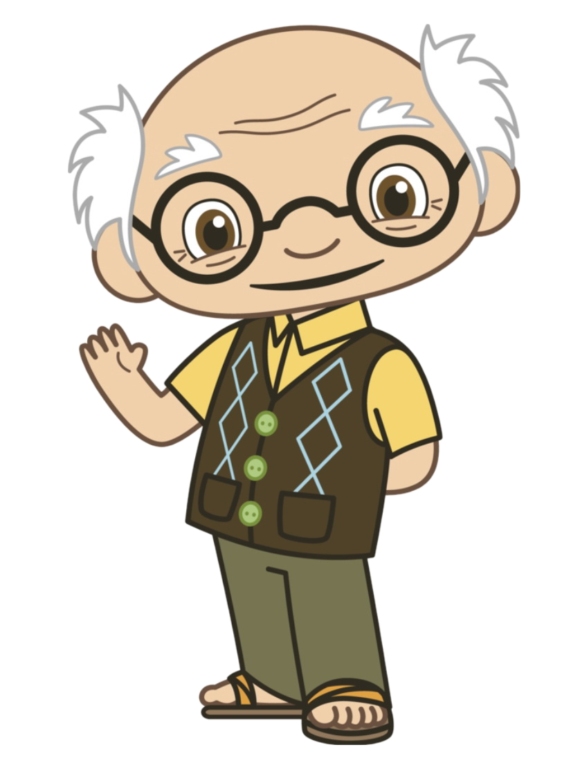 png Grandfather clipart. Grumpy grandpa frames illustrations.