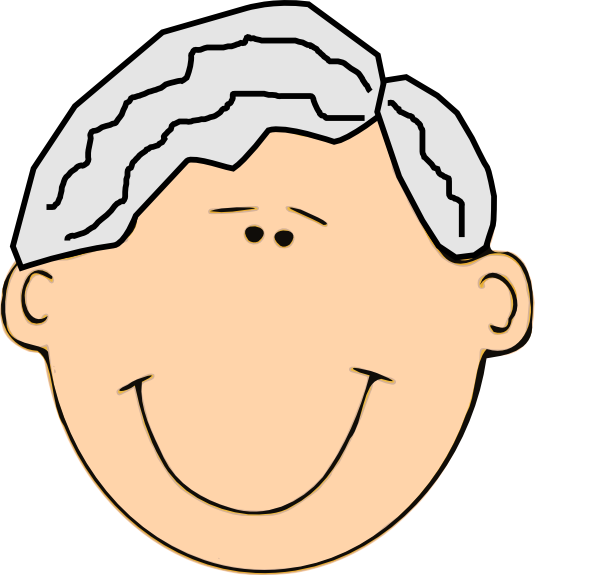 clip art royalty free download Smiling clip art at. Grandfather clipart.