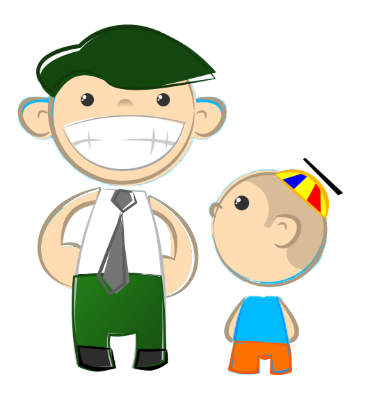 graphic transparent stock Free download clip art. Grandfather clipart father and son