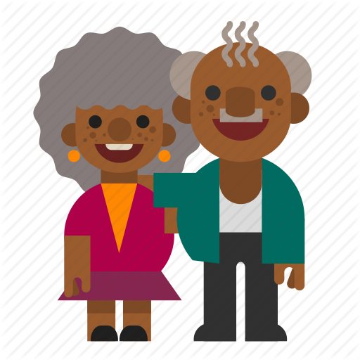 png free library Characters one by webresponse. Grandma clipart grandfather indian