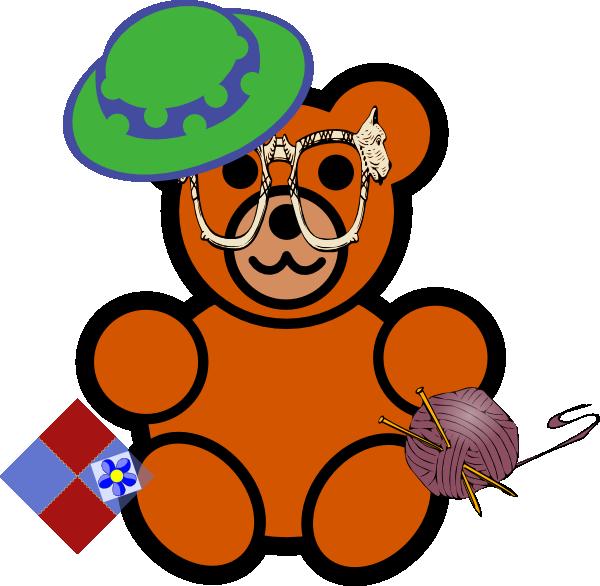graphic freeuse Bear clip art at. Grandma clipart illustration