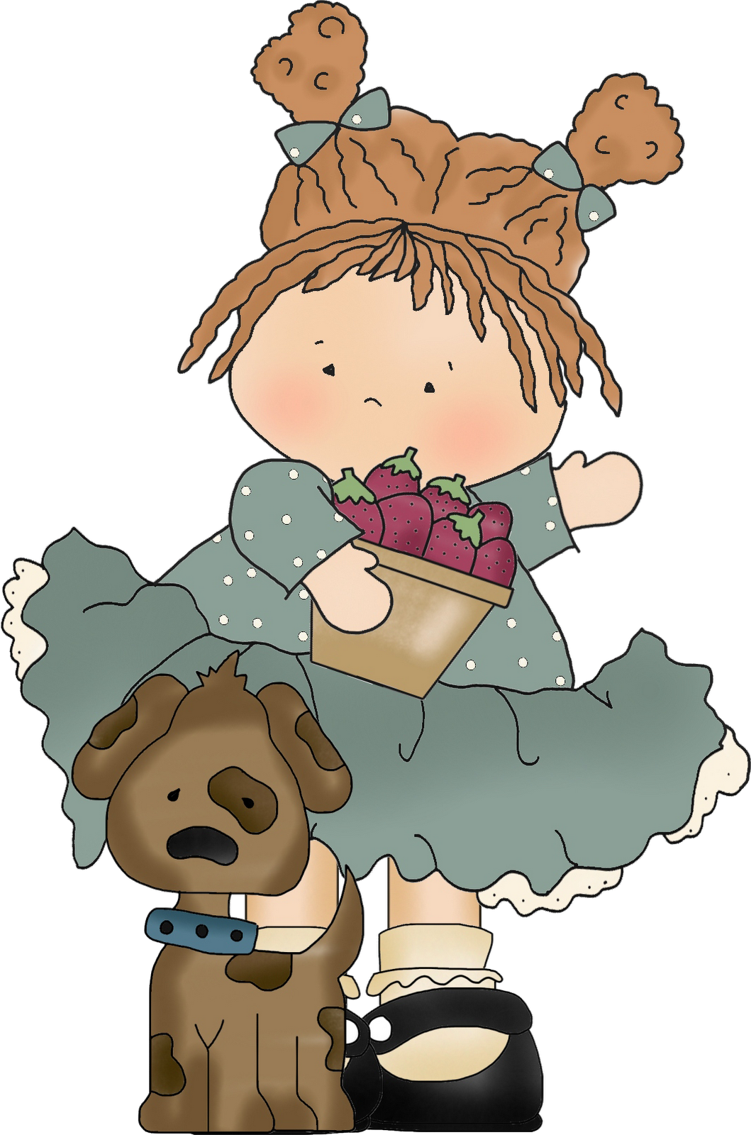 vector freeuse stock A quiet light september. Grandma clipart worthwhile