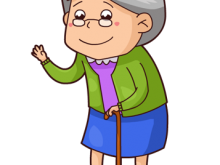 image freeuse download Grandma story time with. Grandmother clipart