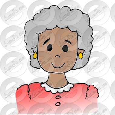 banner transparent library Grandmother Picture for Classroom
