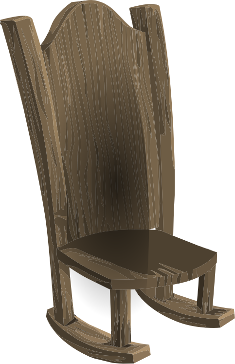 png free stock Pencil and in color. Grandpa clipart chair