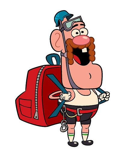 clipart freeuse library Image hiker png wiki. Grandpa clipart uncle