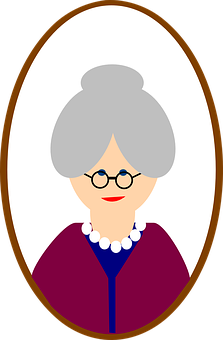 picture free stock Old great free on. Grandparent clipart.