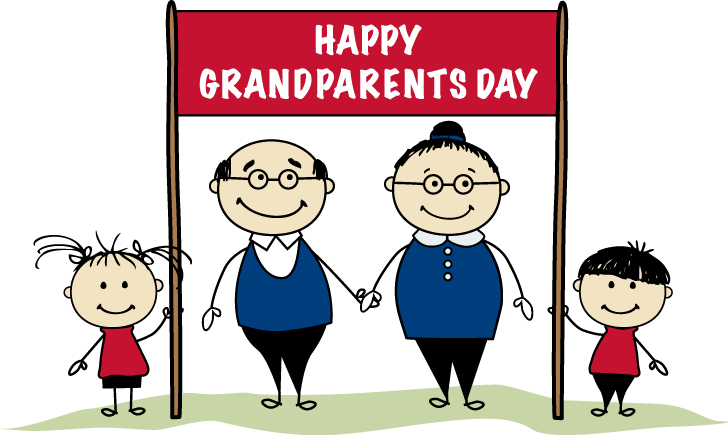 jpg royalty free stock Awesome and beautiful grandparents. Grandparent clipart.