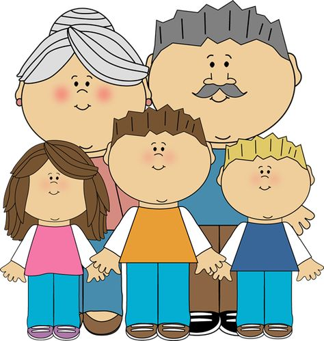 vector free stock Grandparent clipart kid clipart. Grandparents and grandchildren clip