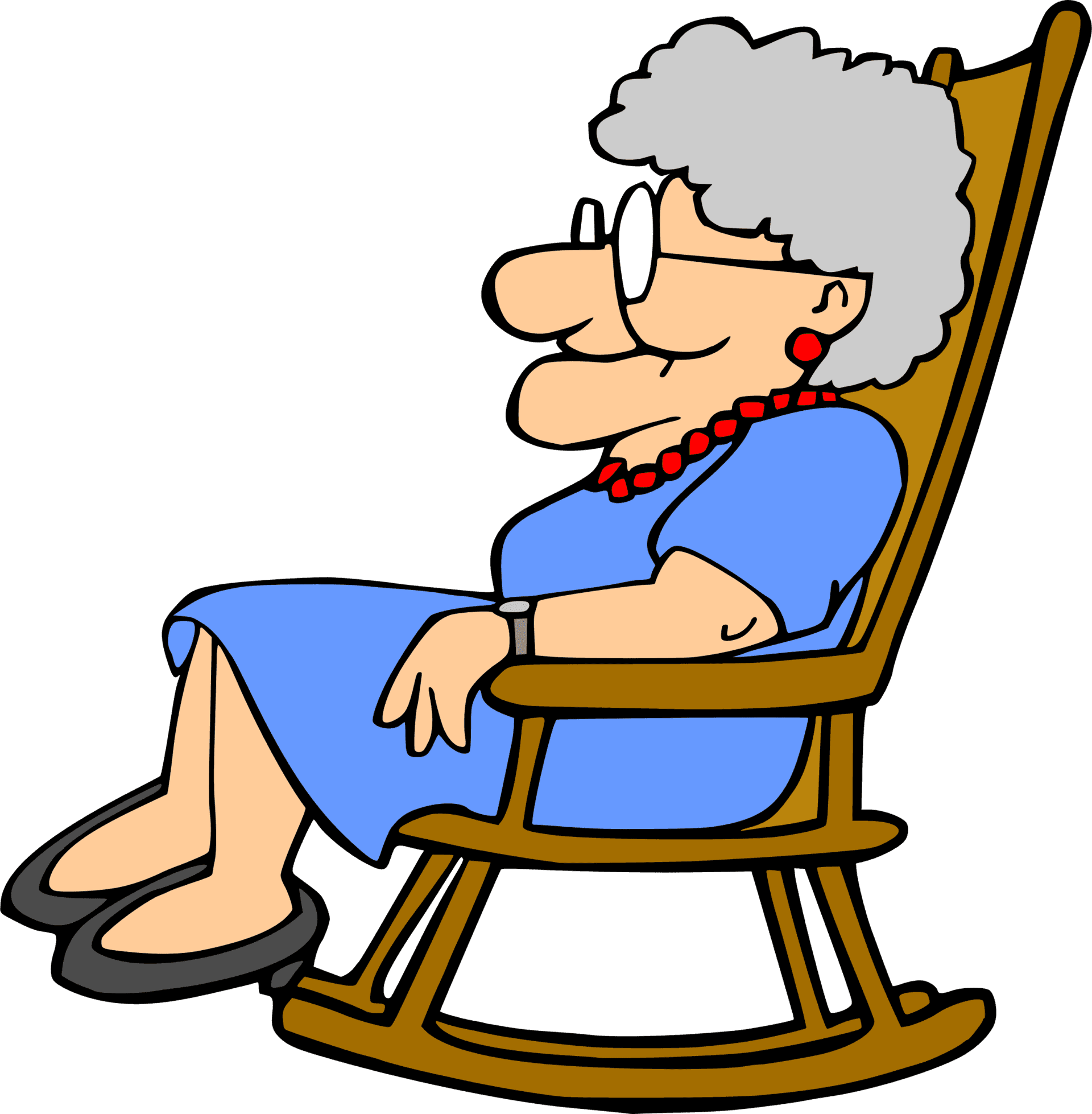 clipart library download Grandmother . Grandparent clipart old age home
