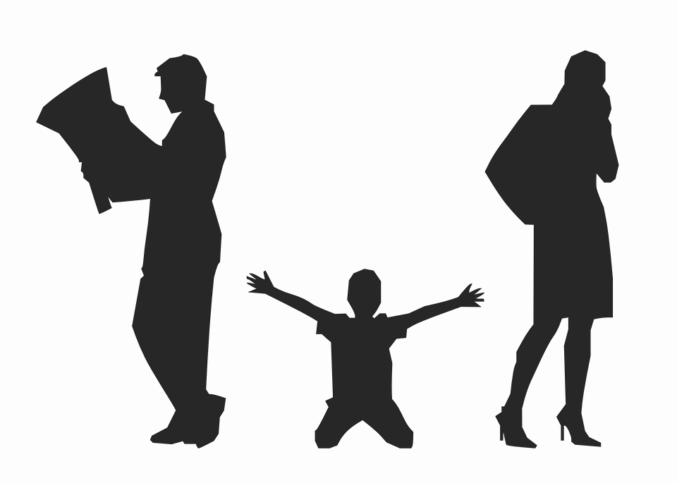 clip library library Parent child at getdrawings. Grandparent clipart silhouette