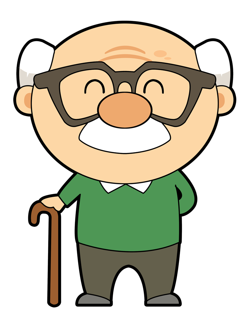 graphic freeuse download  collection of grandfather. Grandparents clipart grand dad