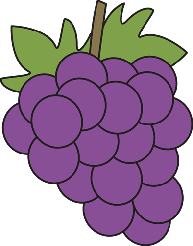 vector free Grape clipart. Free grapes preschool pinterest