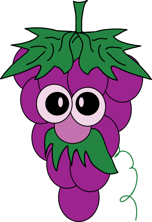 clip art Clip art grapes education. Grape clipart