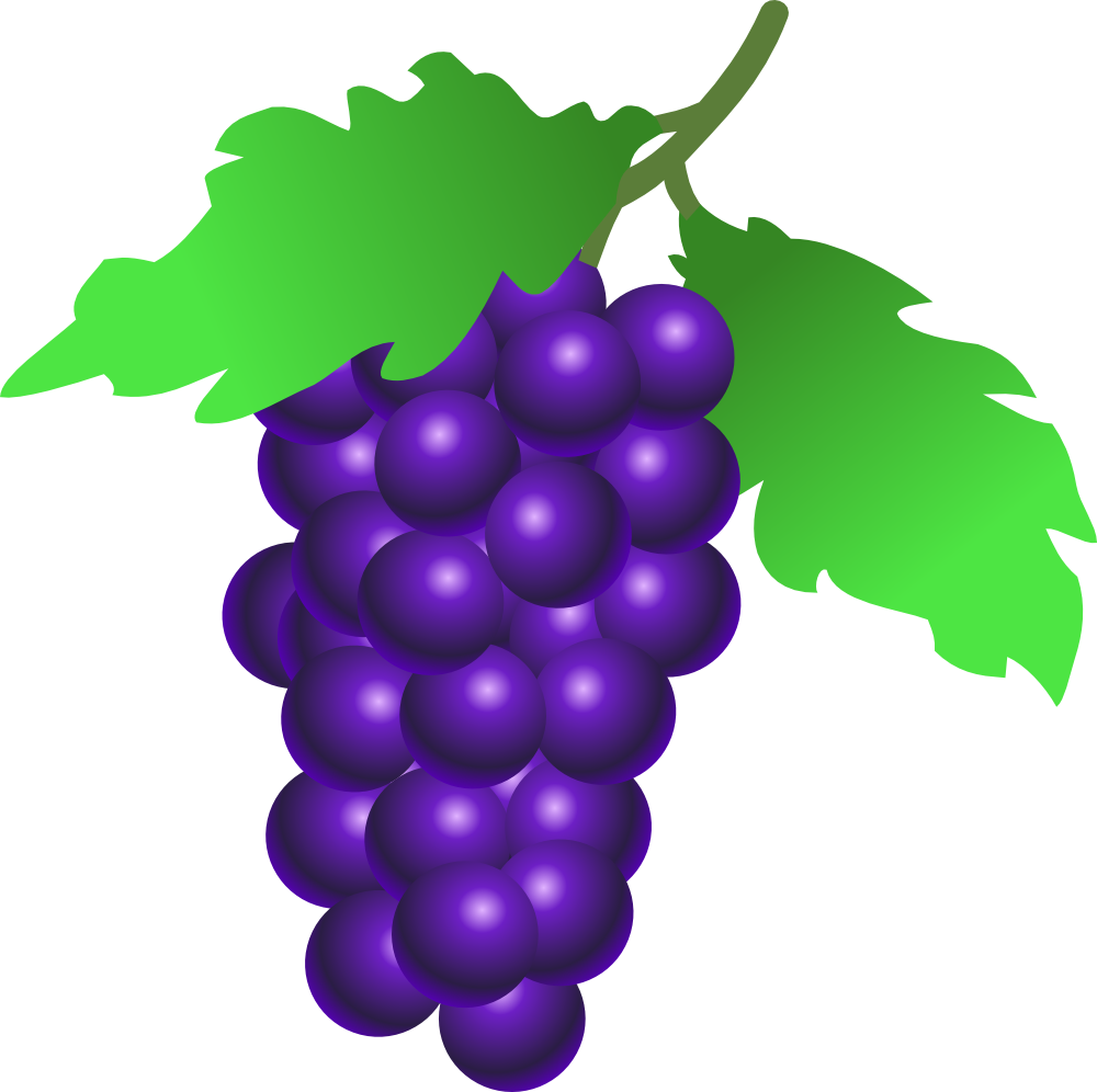image royalty free library Grape clipart grape cluster. Onlinelabels clip art grapes