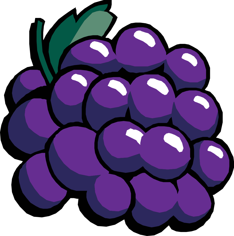 clip royalty free stock Onlinelabels clip art grapes. Grape clipart printable