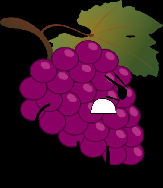 graphic stock Grapes clipart grape soda. Purple object free on