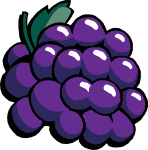 picture free library Clip art at clker. Grapes clipart