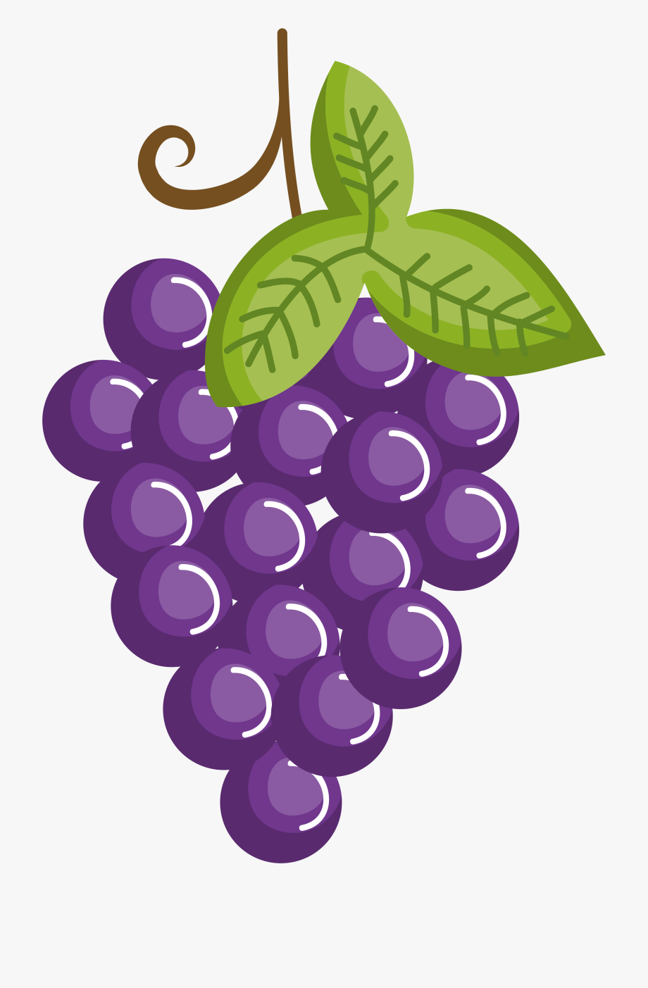 image free Grapes clipart. Grape fruit purple transprent