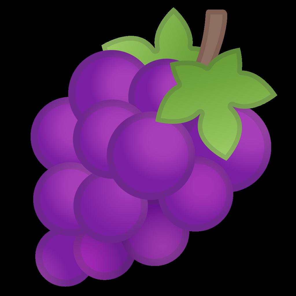 clip transparent stock Icon noto emoji food. Grapes clipart grape soda