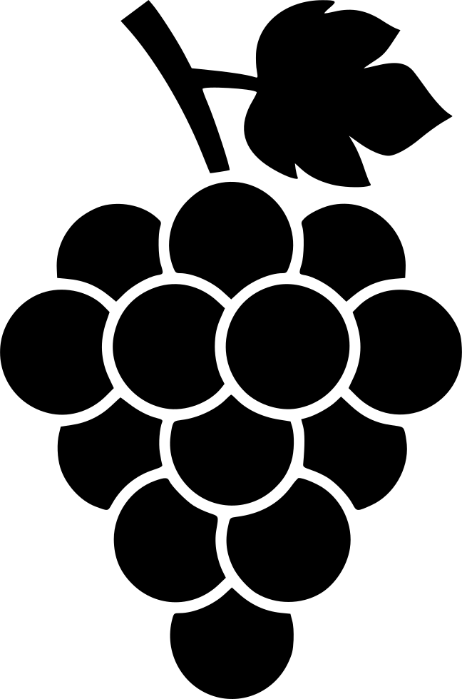 picture library download Grapes clipart outline. Svg free on dumielauxepices
