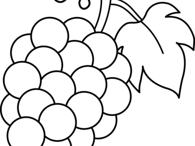 clipart transparent library Grapes clipart outline. Free on dumielauxepices net