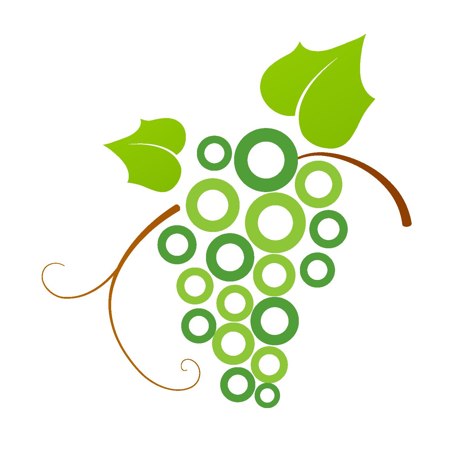 image freeuse stock Logo common grape vine. Grapevine clipart line