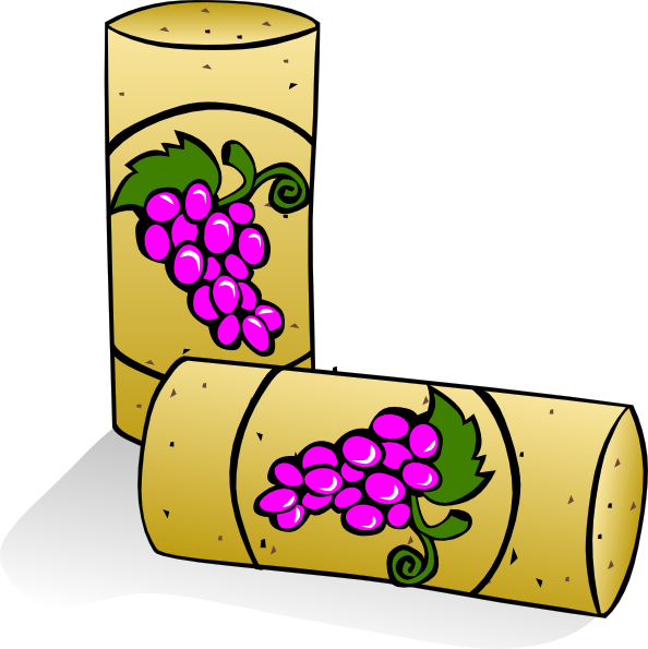 jpg freeuse stock Wine corks clip art. Grapevine clipart winery