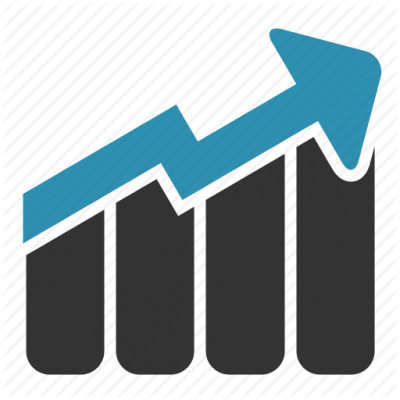 picture royalty free library Graph clipart icon bar. Download business growth chart